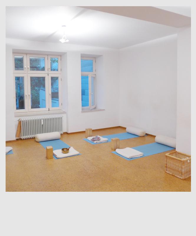 Yogaraum Yogaforum, Metzstrasse - Haidhause